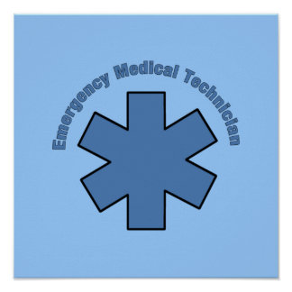 Emergency Medical Technician Poster