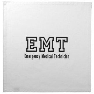 Emergency Medical Technician Printed Napkin