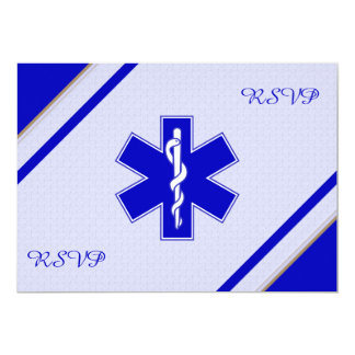 Emergency Medical Technician Retirement RSVP Cards