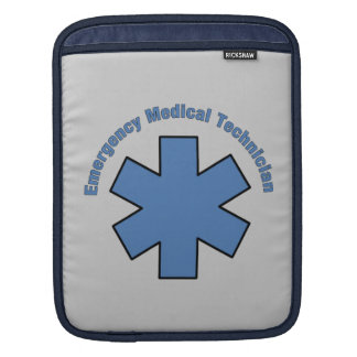 Emergency Medical Technician Sleeves For iPads