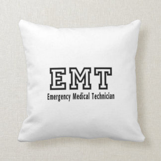 Emergency Medical Technician Throw Pillow