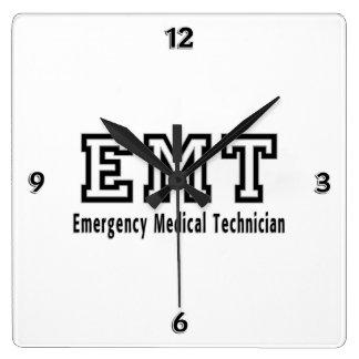 Emergency Medical Technician Wall Clocks