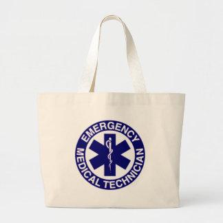 EMERGENCY MEDICAL TECHNICIANS EMT JUMBO TOTE BAG