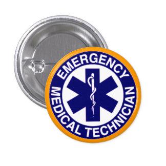 EMERGENCY MEDICAL TECHNICIANS EMT BUTTON