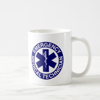 EMERGENCY MEDICAL TECHNICIANS EMT CLASSIC WHITE COFFEE MUG
