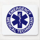 EMERGENCY MEDICAL TECHNICIANS EMT MOUSE PAD