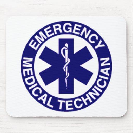 EMERGENCY MEDICAL TECHNICIANS EMT MOUSE PADS