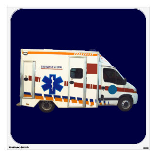 emergency medical wall sticker