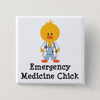 Emergency Medicine Chick Button