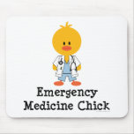 Emergency Medicine Chick Mousepad