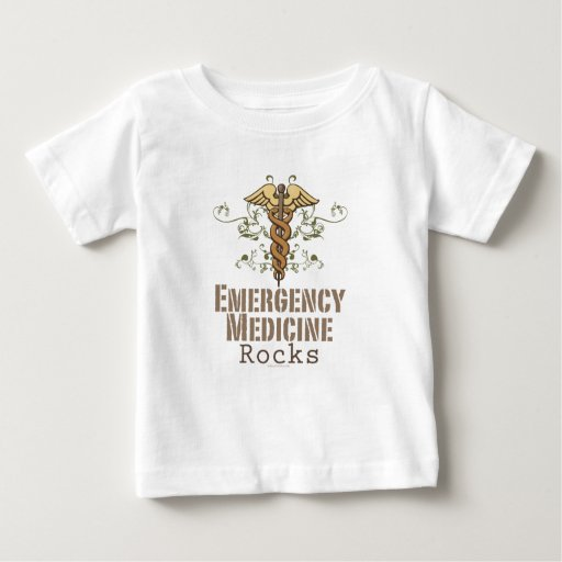 Emergency Medicine Rocks Baby T shirt