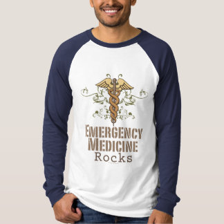 Emergency Medicine Rocks Baseball Tee