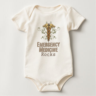 Emergency Medicine Rocks Infant Creeper