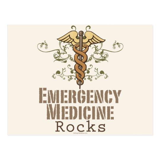 Emergency Medicine Rocks Post Card