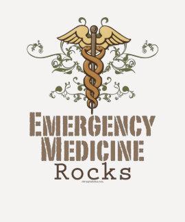 Emergency Medicine Rocks Raglan Tee