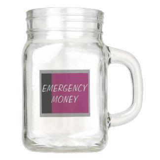 Emergency Money Mason Jar