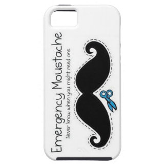 emergency moustache iPhone 5 cases