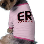 EMERGENCY NURSE 2 copy Doggie T-shirt