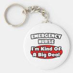 Emergency Nurse...Big Deal Key Chain