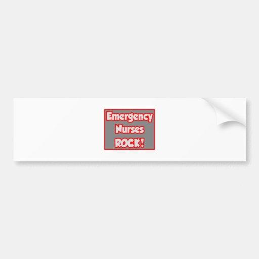 Emergency Nurses Rock! Bumper Sticker