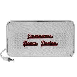 Emergency Room Doctor Classic Job Design Travel Speaker