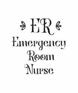 Emergency Room Nurse ER Gifts Baby Bodysuit