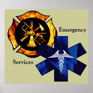 Emergency Services Print