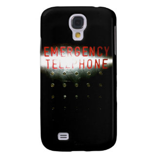 Emergency Telephone Galaxy S4 Cover