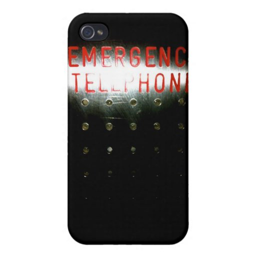 Emergency Telephone - iPhone iPhone 4 Cases