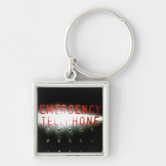 Emergency Telephone Keychain