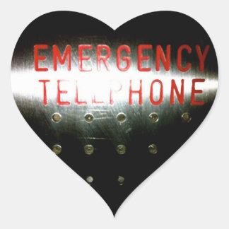 Emergency Telephone - Sticker