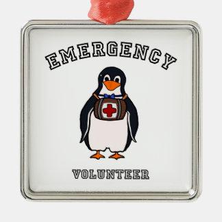 Emergency Volunteer Metal Ornament