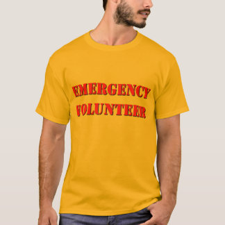 Emergency Volunteer T-Shirt