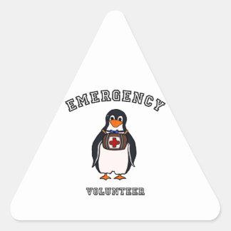 Emergency Volunteer Triangle Sticker