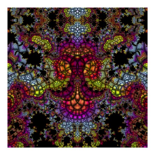 Emergent Mosaic Anchor V 1  Art Print