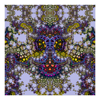 Emergent Mosaic Anchor V 7  Art Print