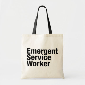 Emergent Service Worker Canvas Bags