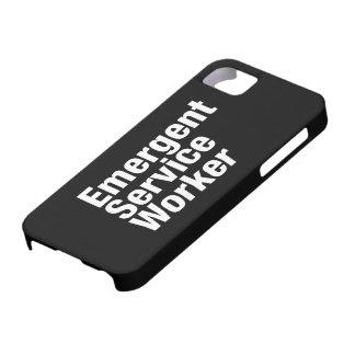 Emergent Service Worker iPhone SE/5/5s Case