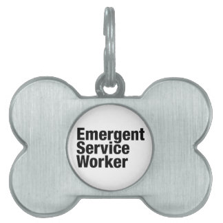 Emergent Service Worker Pet Name Tag