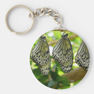 Emerging From Cocoons Keychain