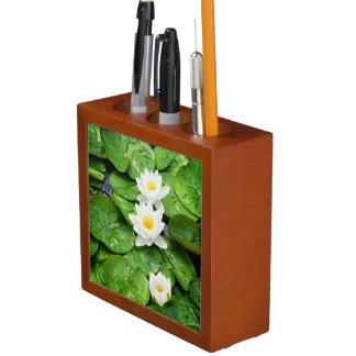 Emerging Lotus Flowers Pencil/Pen Holder