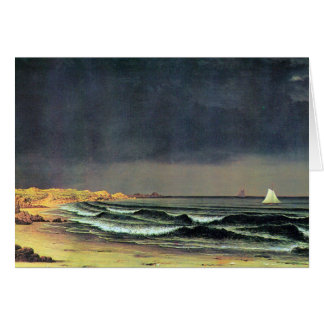 Emerging storm, Narragansett Bay Card
