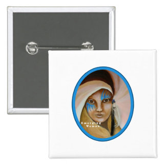 Emerging Woman 2 Inch Square Button