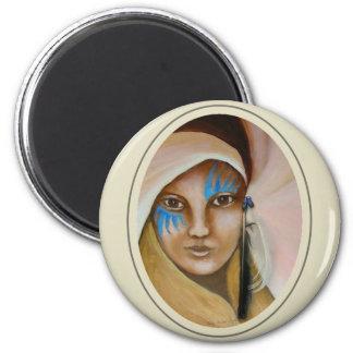 Emerging Woman 3 Magnet