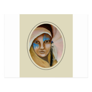 Emerging Woman 3 Postcard
