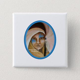 Emerging Woman Button