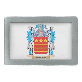 Emeric Coat of Arms - Family Crest Rectangular Belt Buckles