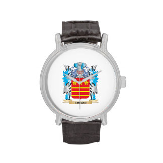 Emeric Coat of Arms - Family Crest Wristwatches