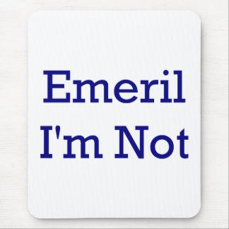 Emeril I'm not Chef Mouse Pad. Mouse Pad