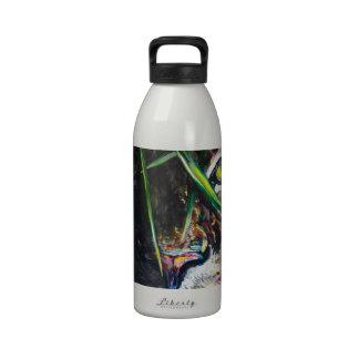 Emerja de la creación de Lovejoy del arte del tigr Botellas De Agua Reutilizables